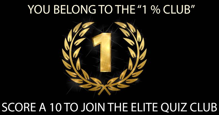 Elite members Quiz