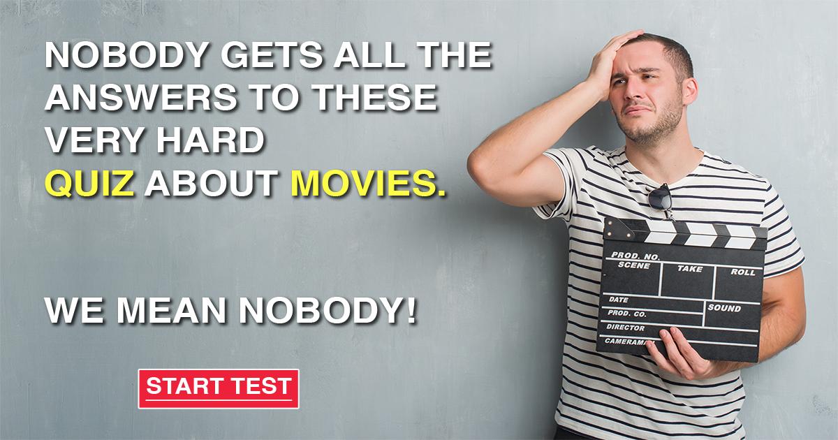 Hard Movies Quiz