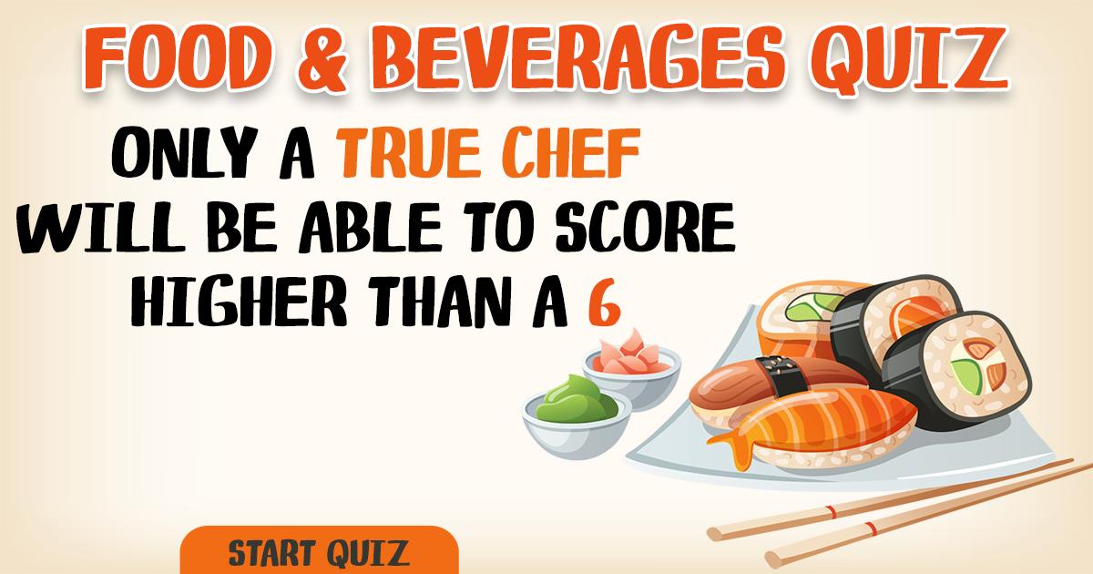 Are you a true chef?